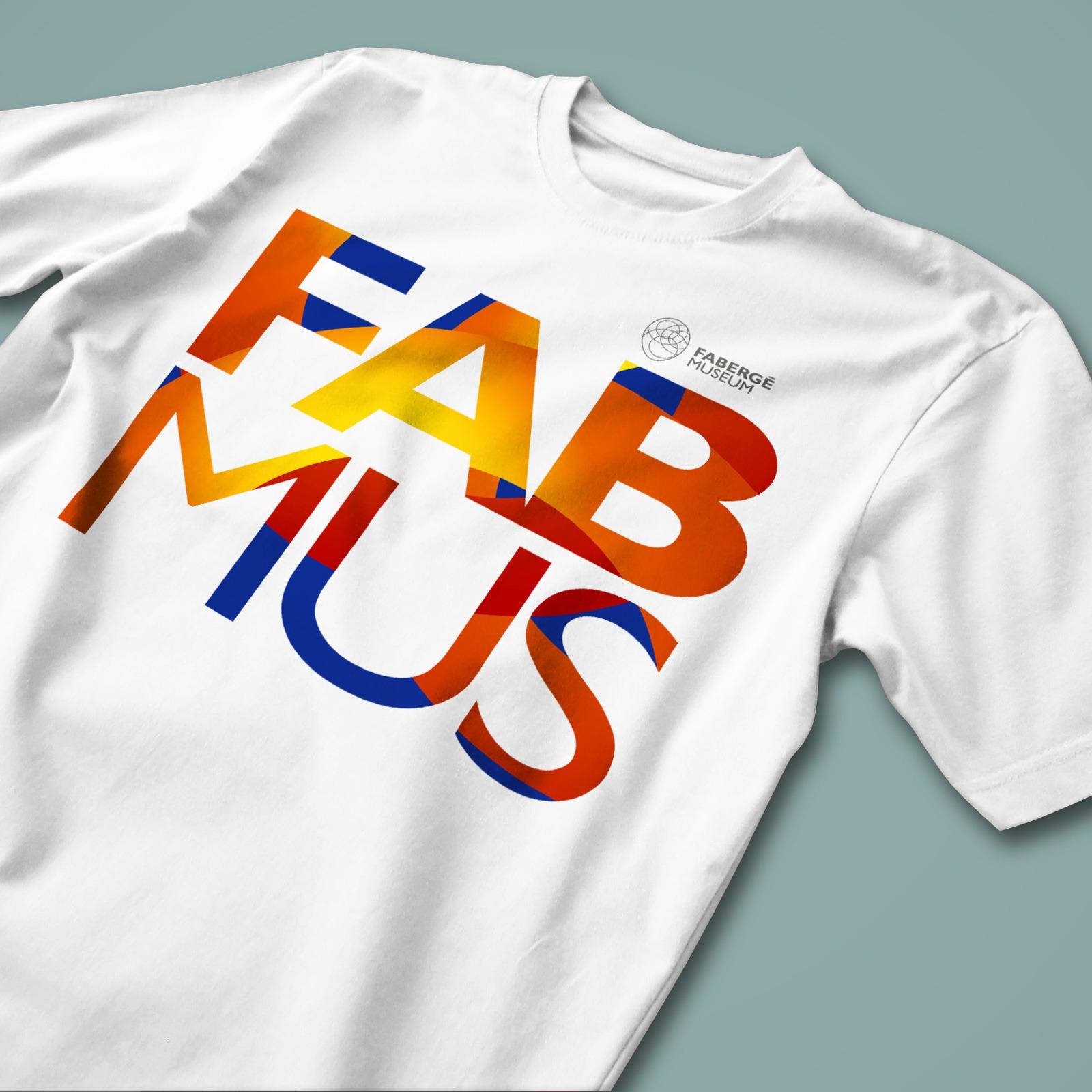Asgard Branding, брендинг, Музей Фаберже, сувенирная майка, футболка, T-shirt Fab Mus