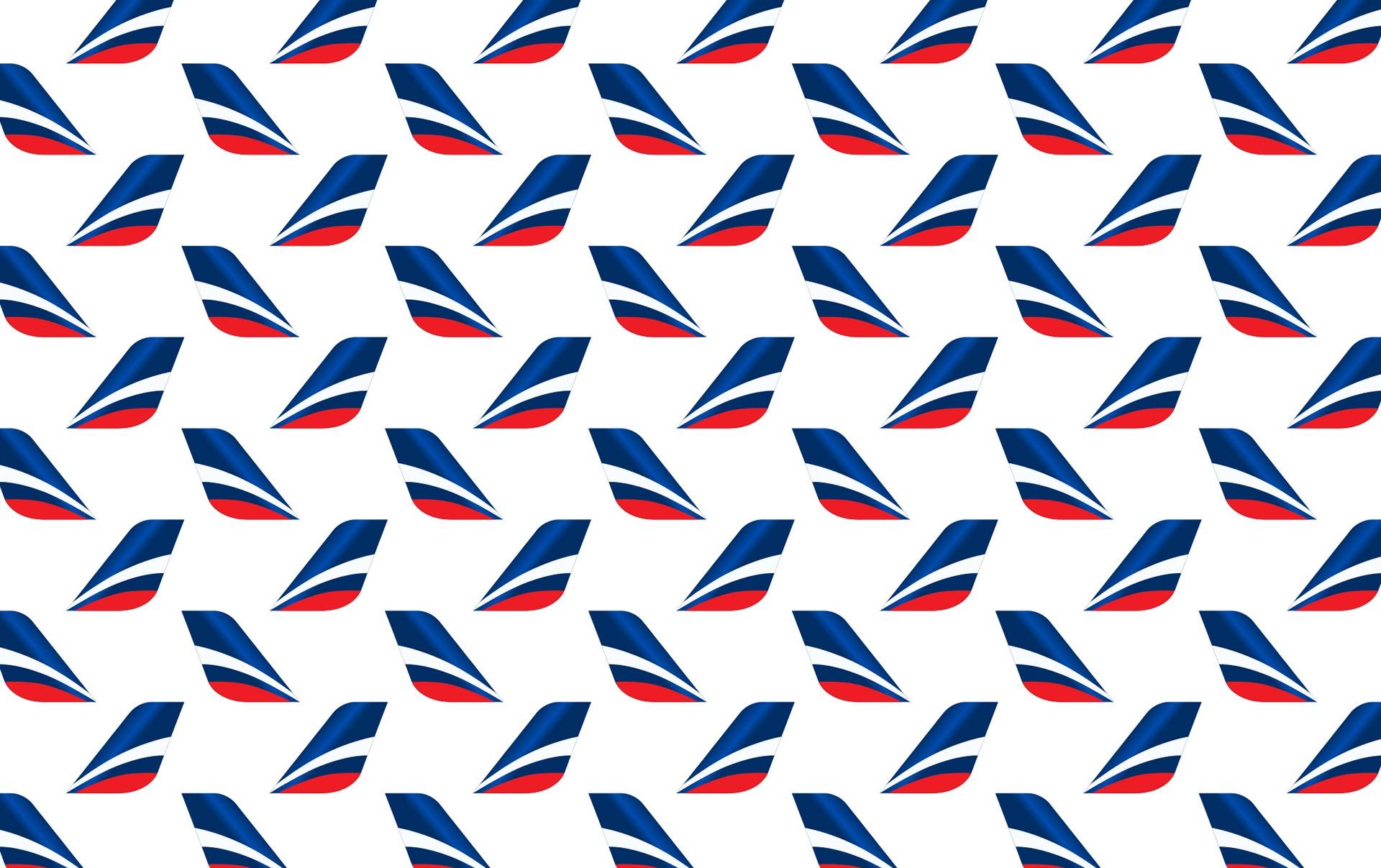 Фирменный паттерн авиакомпании, Asgard Branding, логотип Аэрофлот, Aeroflot, Asgard Branding