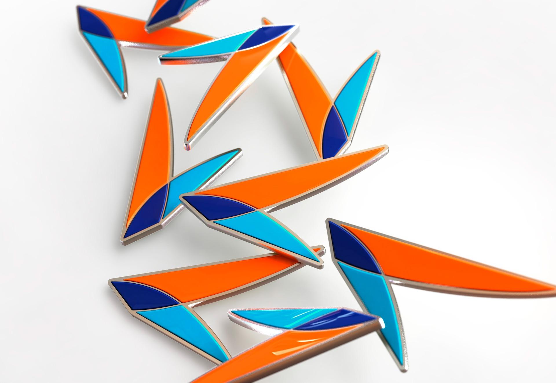 Авиакомпания Азимут, дизайн нагрудных знаков бортового экипажа, Azimuth Airlines, badge design for flight attendants