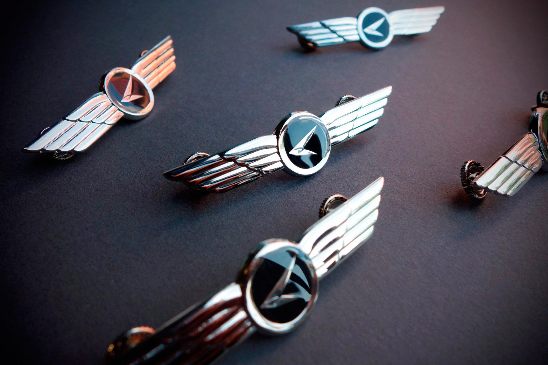 Авиакомпания Азимут, дизайн нагрудных знаков летного состава, design of flight crew badges for Azimuth Airlines