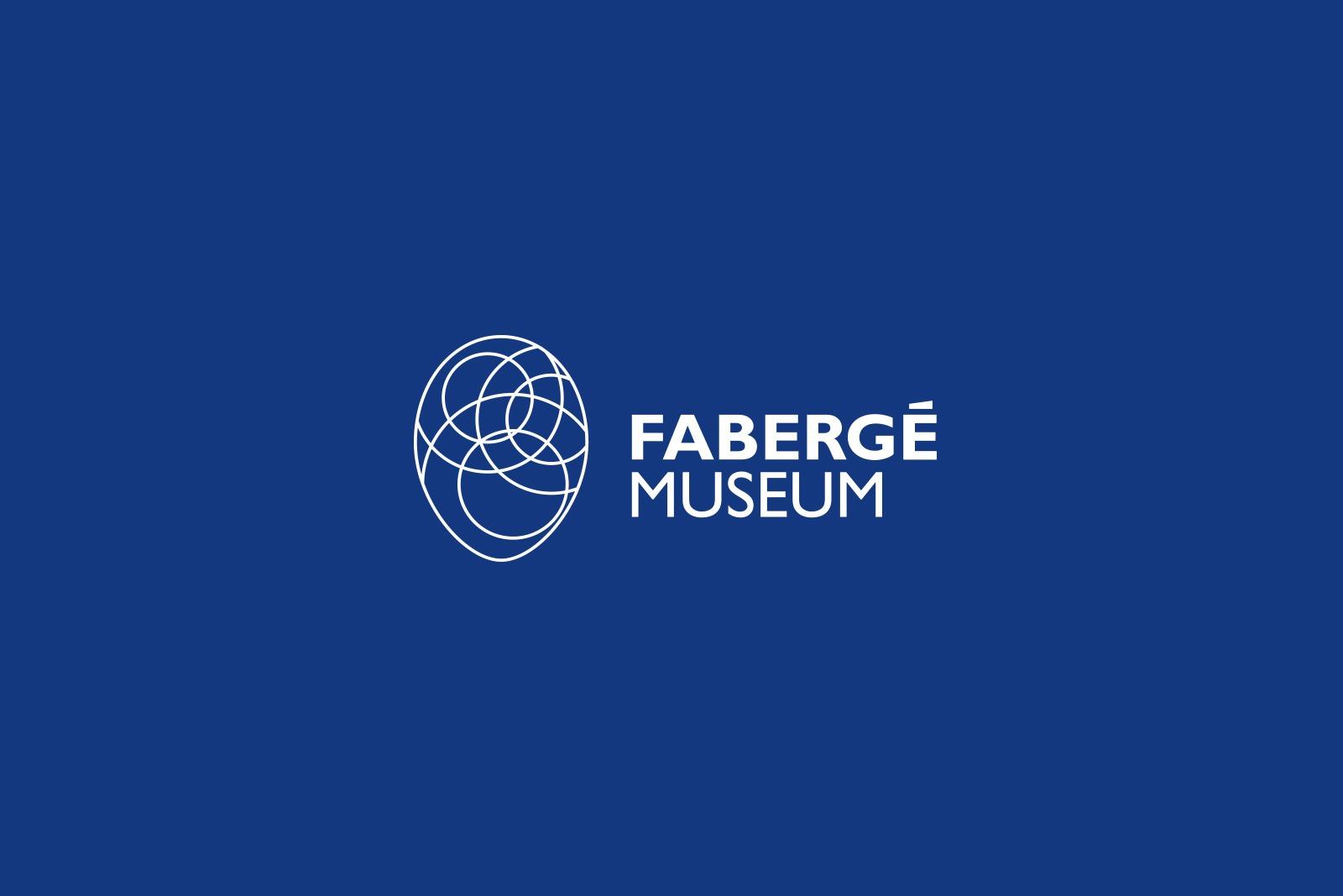 Faberge Museum logo, Asgard, музейный брендинг, Faberge egg