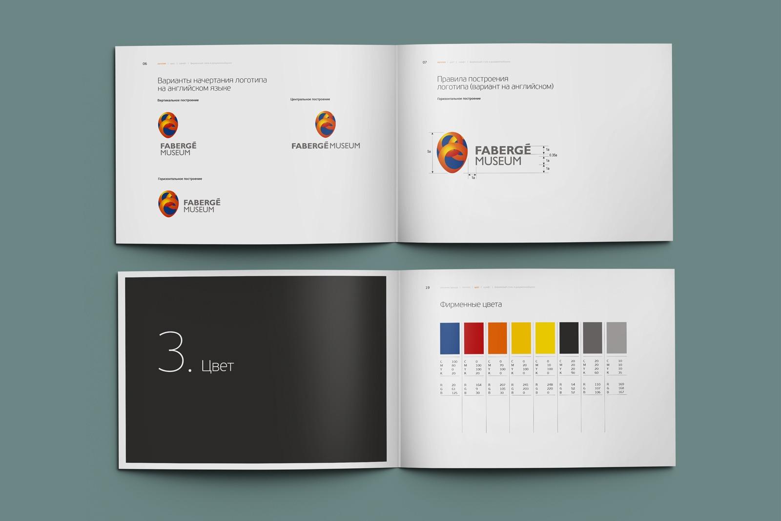 Asgard Branding, Fabergé Museum, brandbook