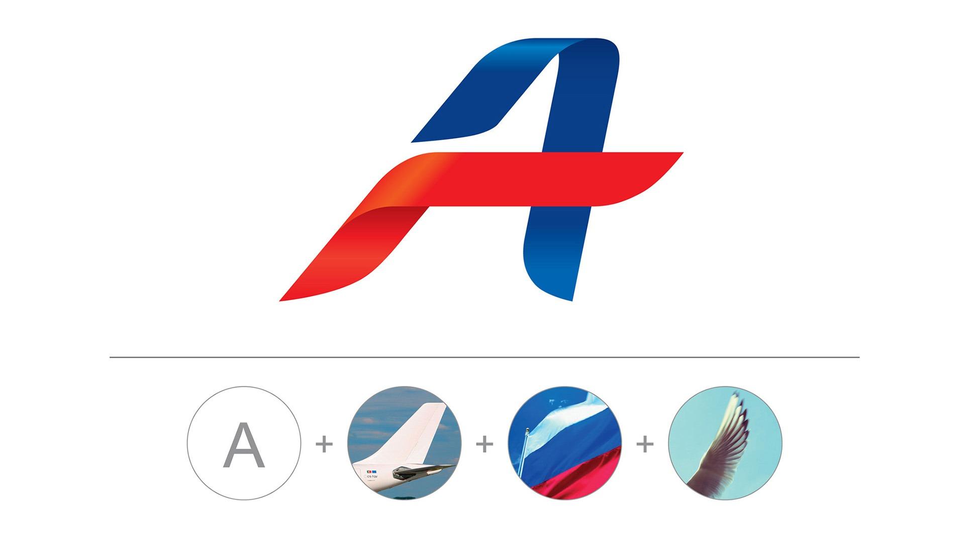 Фирменный стиль авиакомпании, Asgard Branding, лого Аэрофлот, Aeroflot
