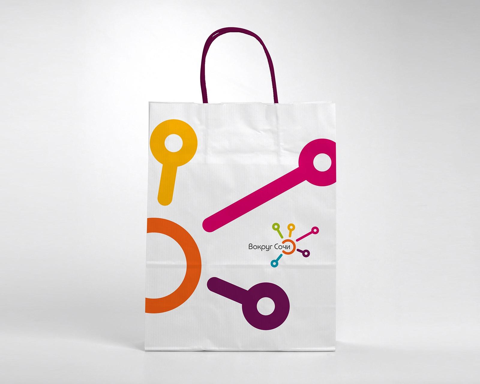 Logo design, Sochi, travel agency, branding, travel agency corporate identity