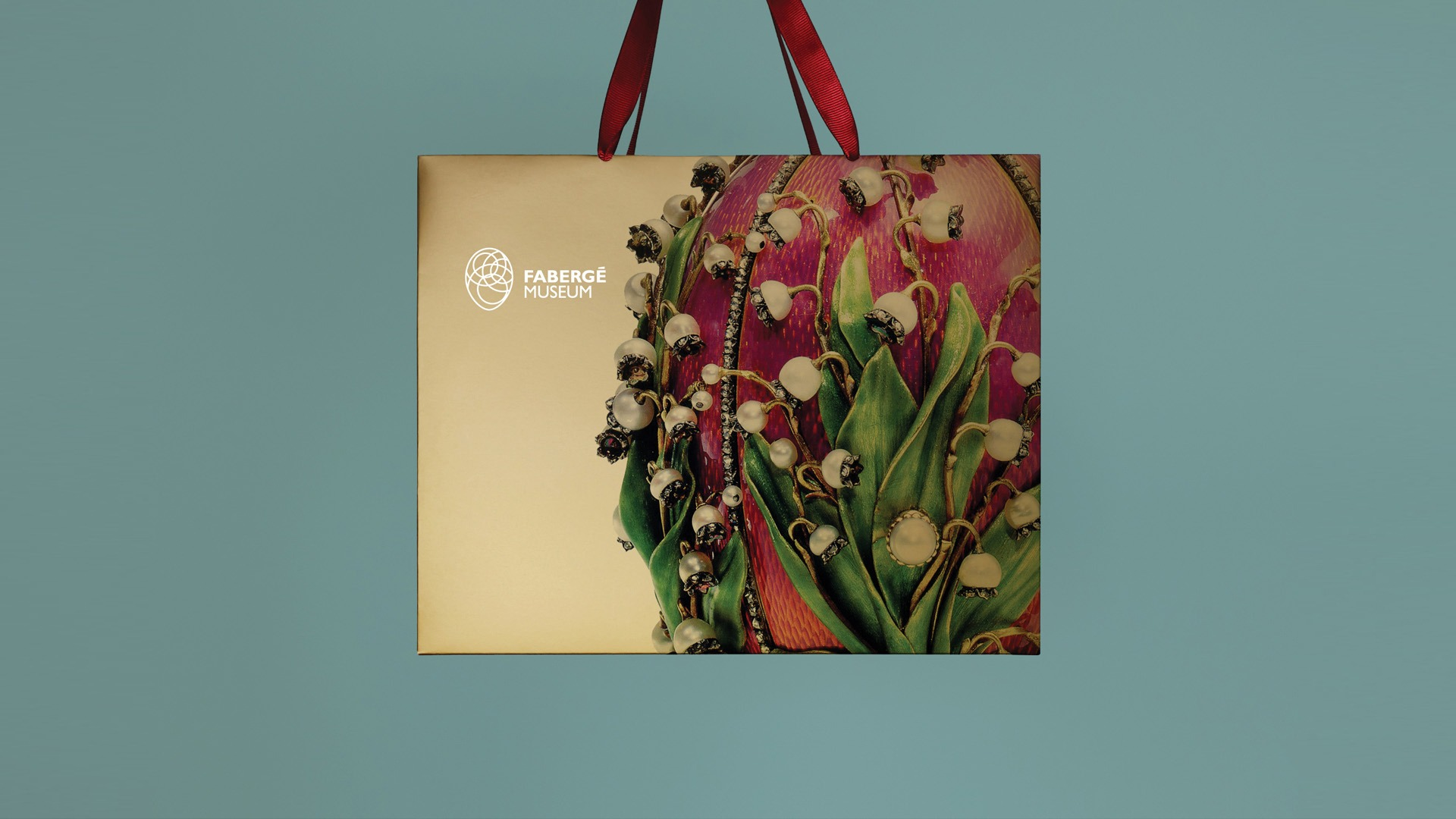 Агентство Асгард, дизайн сувенирных пакетов, брендинг, Музей Фаберже, Faberge Museum branding