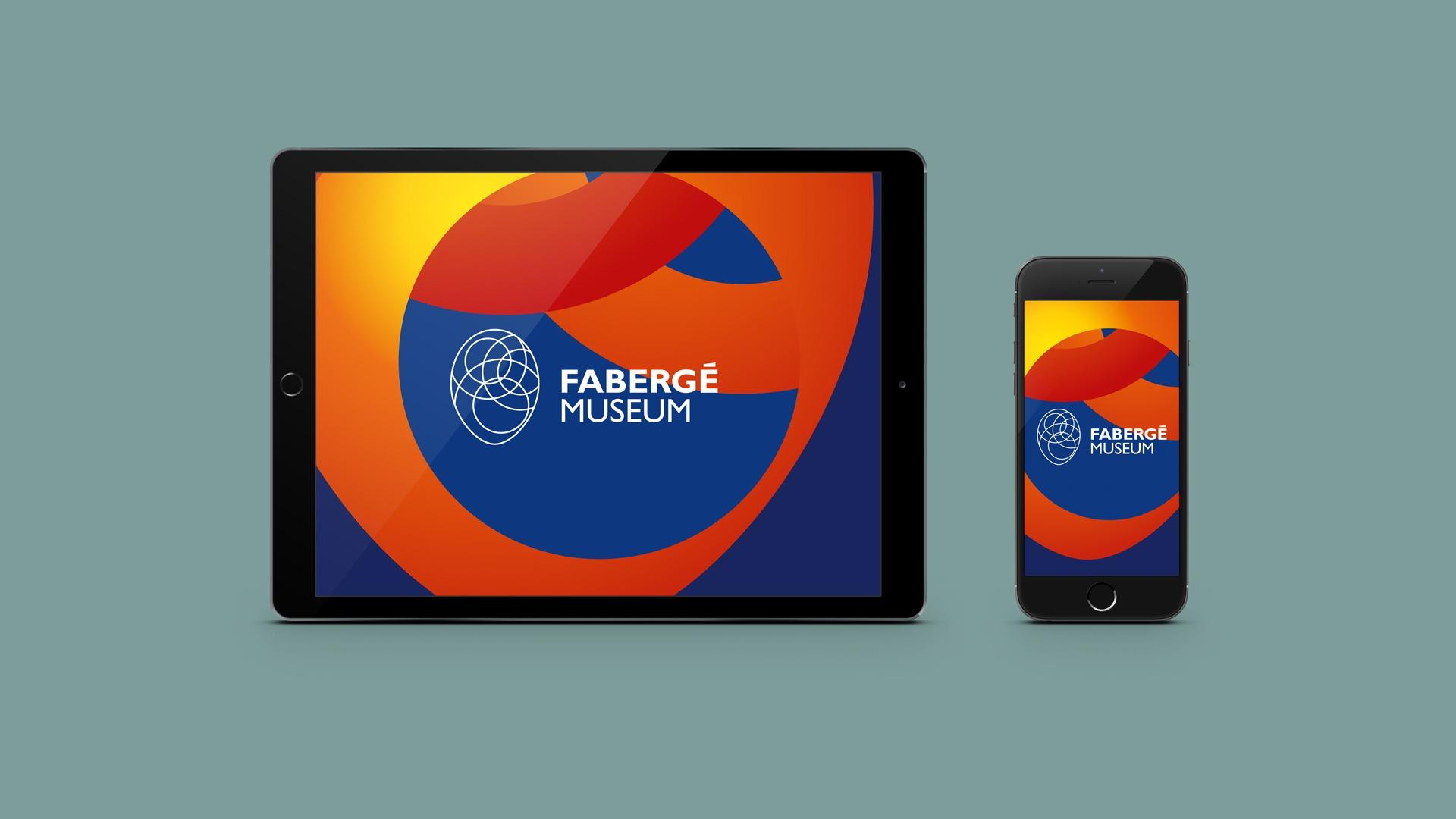 Музей Фаберже. Fabergé Museum logo, логотип, Асгард
