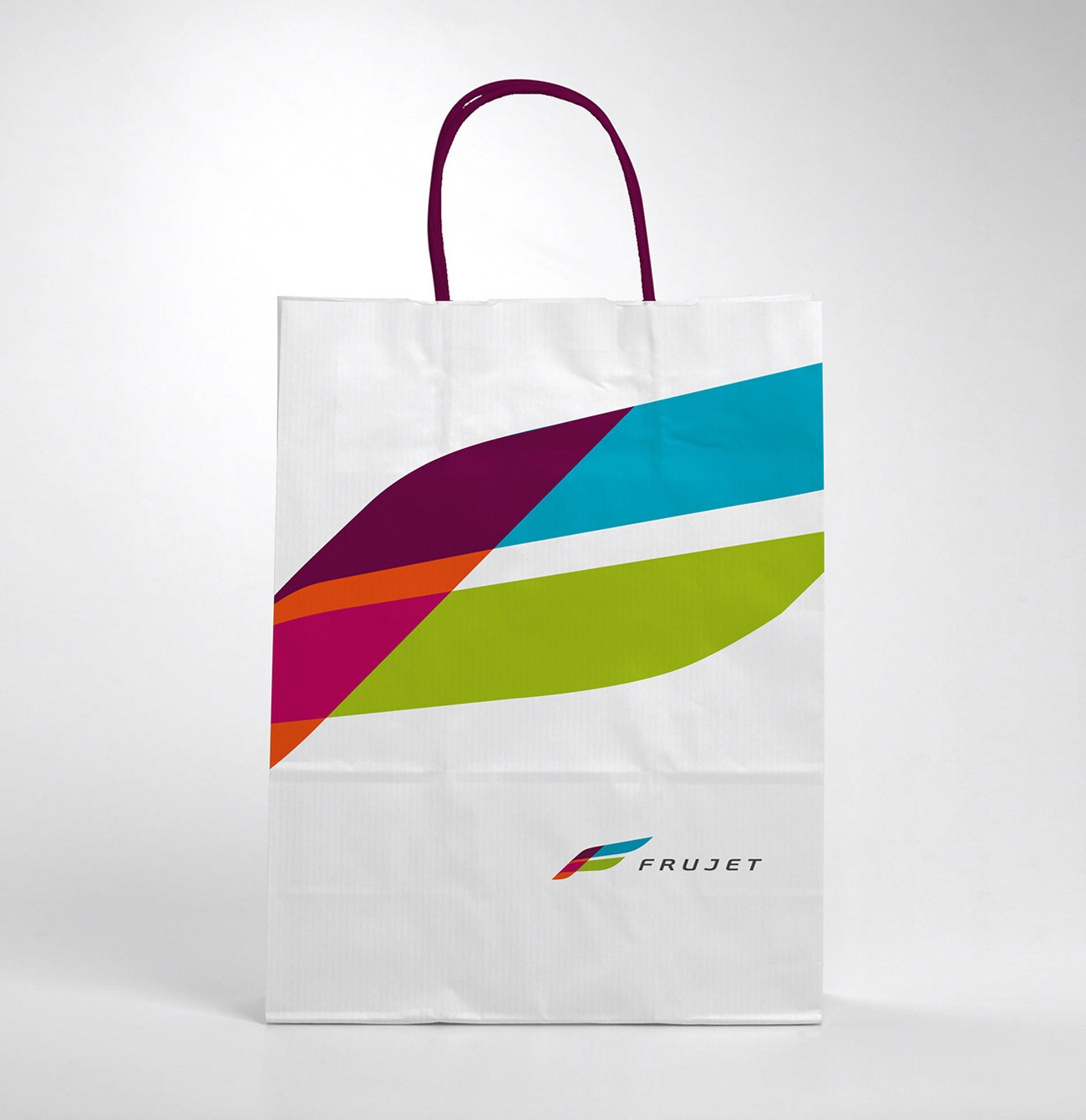 Брендинговое Агентство Асгард, фирменный стиль Frujet, дизайн пакета