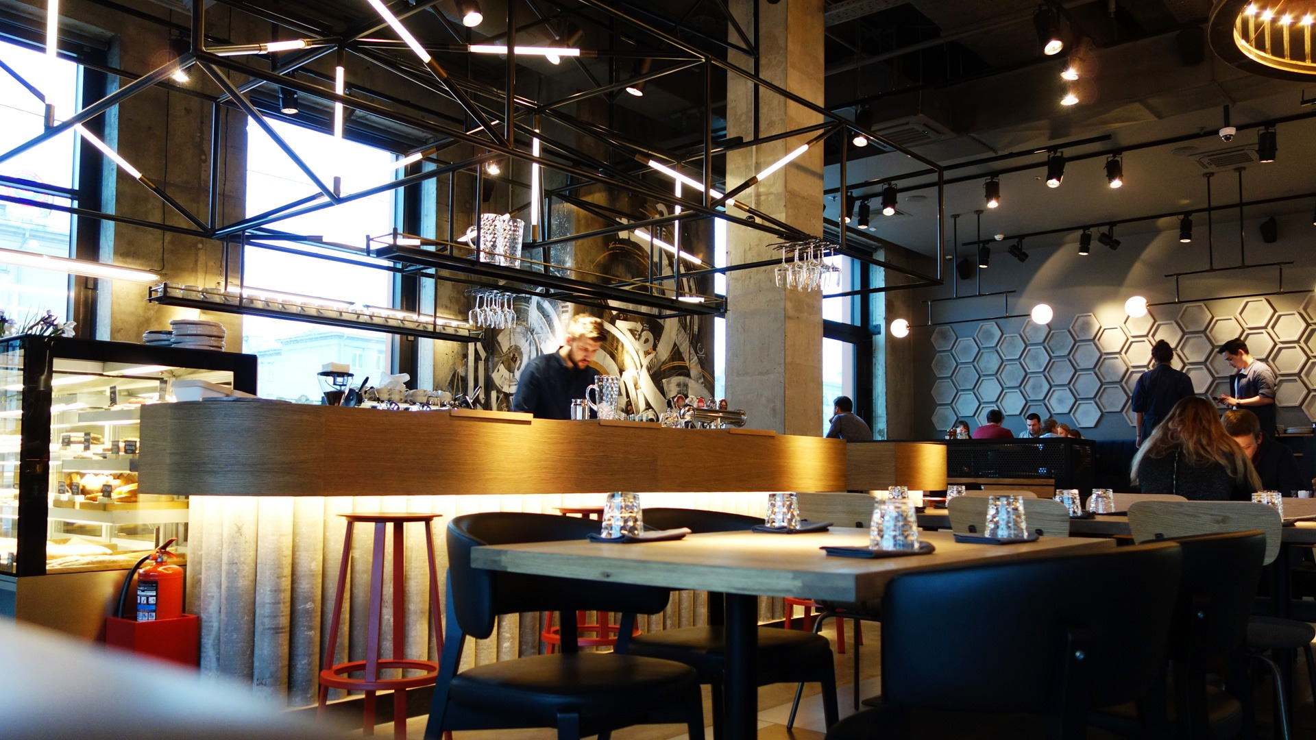 Asgard Branding, фирменный стиль, ресторан Grillstation, logo design, branding