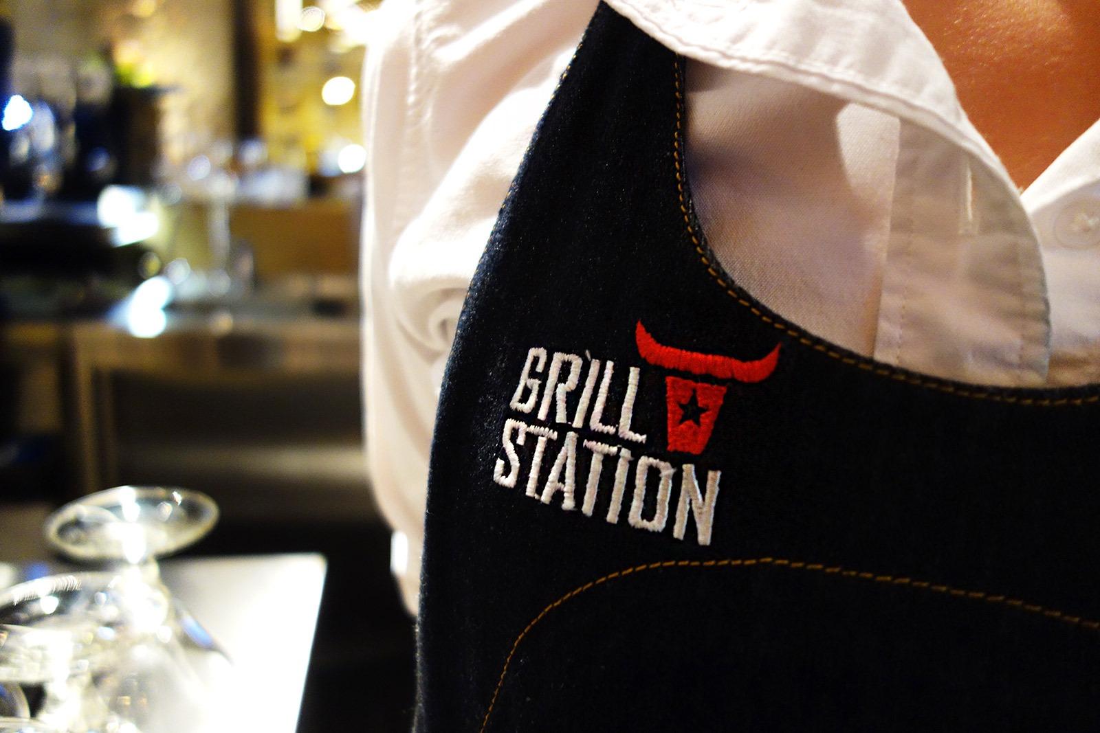 ASGARD Branding, брендинг ресторана Grill Station, фирменный стиль, design of the uniform