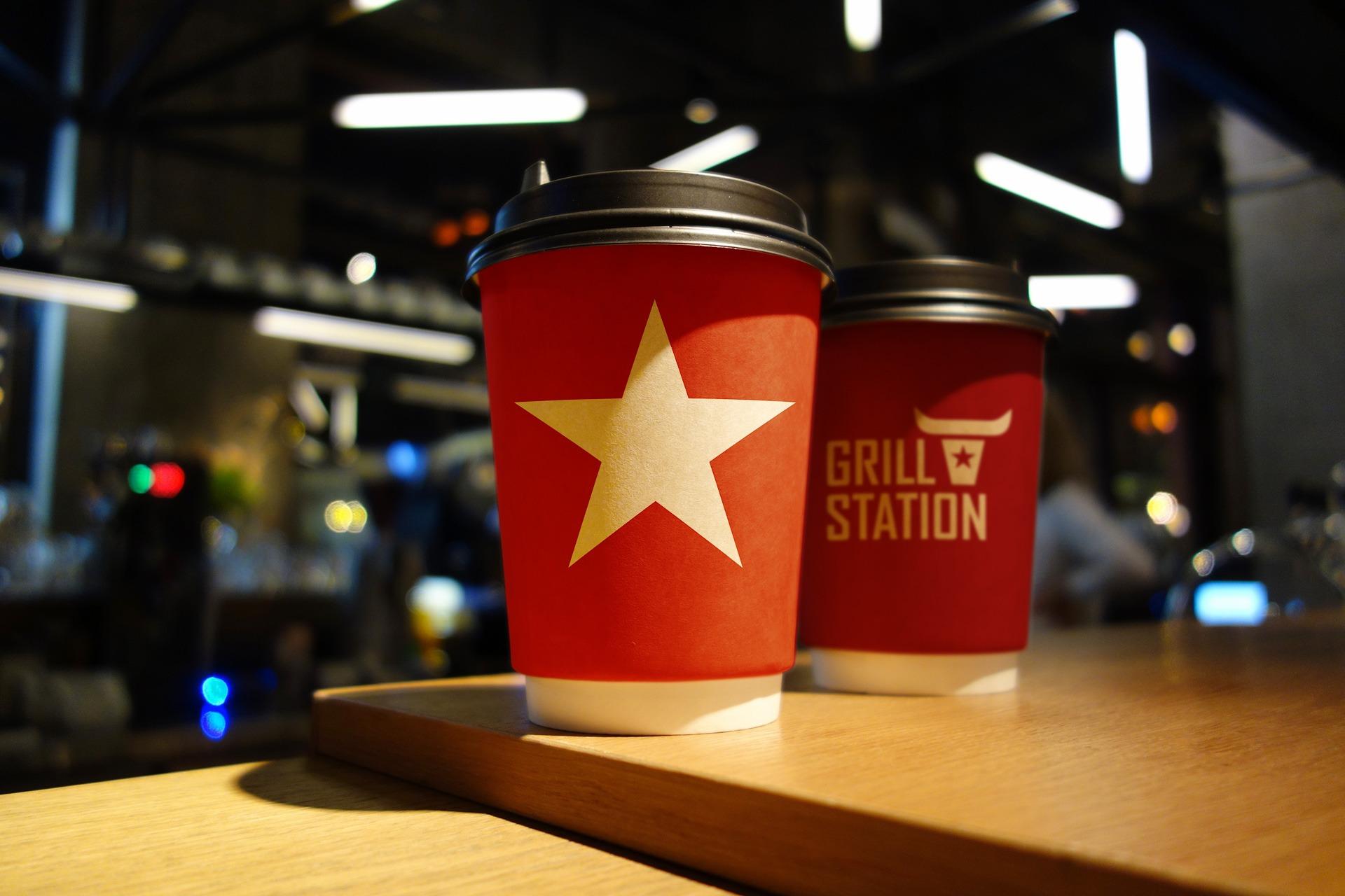 Брендинг упаковки, Асгард брендинг, брендинг ресторана Grill Station, branding design identity