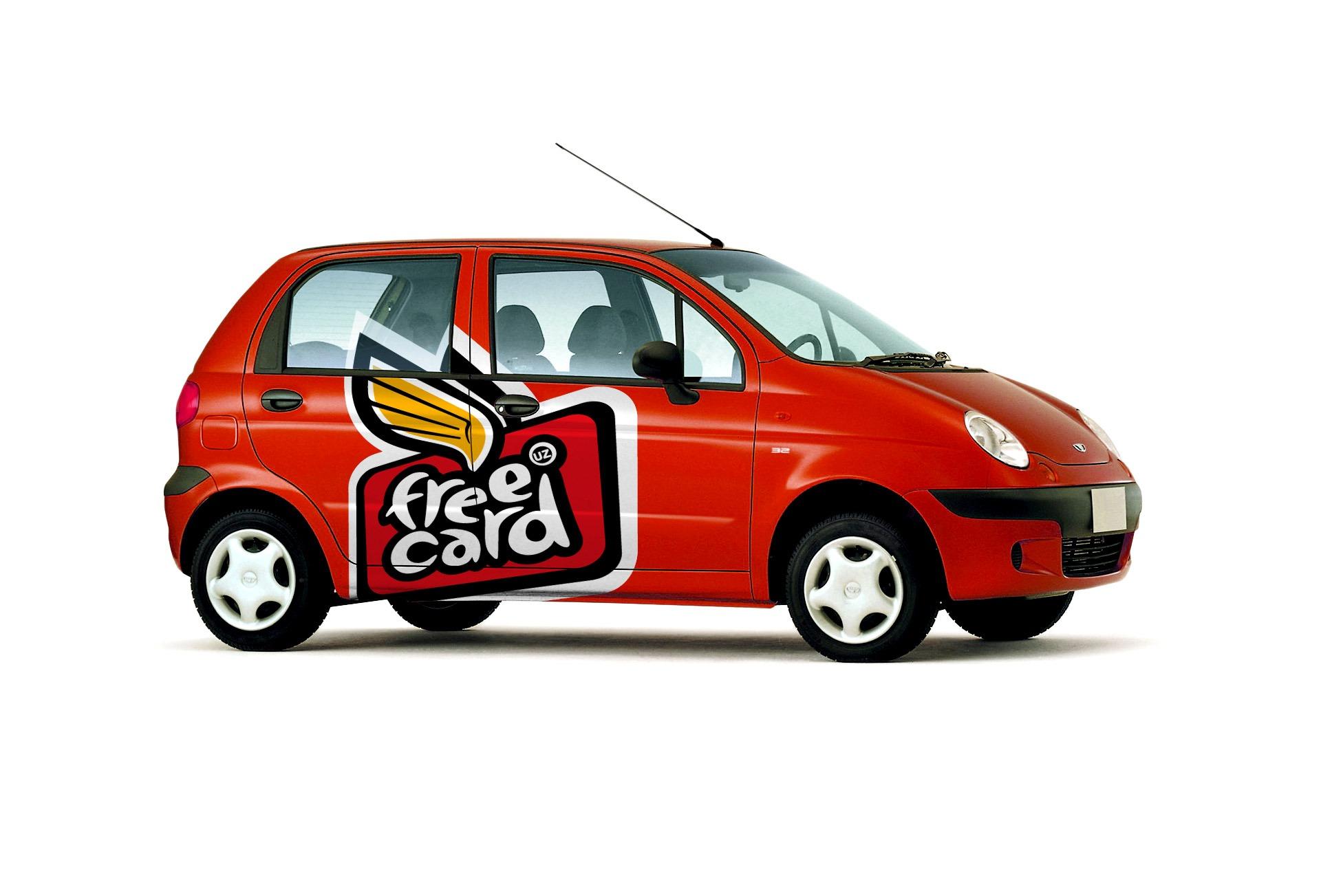 Asgard Branding, фирменный стиль, брендинг автомобиля, лого, Free Card, дизайн, графический дизайн, рекламное агентство
