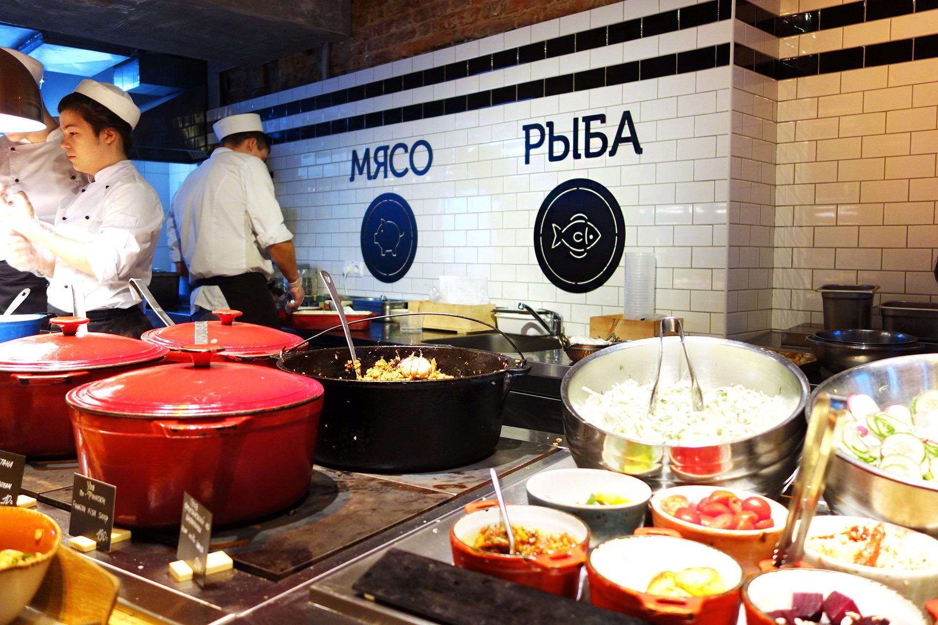 Асгард Брендинг, фирменный стиль, система графической навигации, лого, ресторан Marketplace на Грибоедова, брендинг ресторана