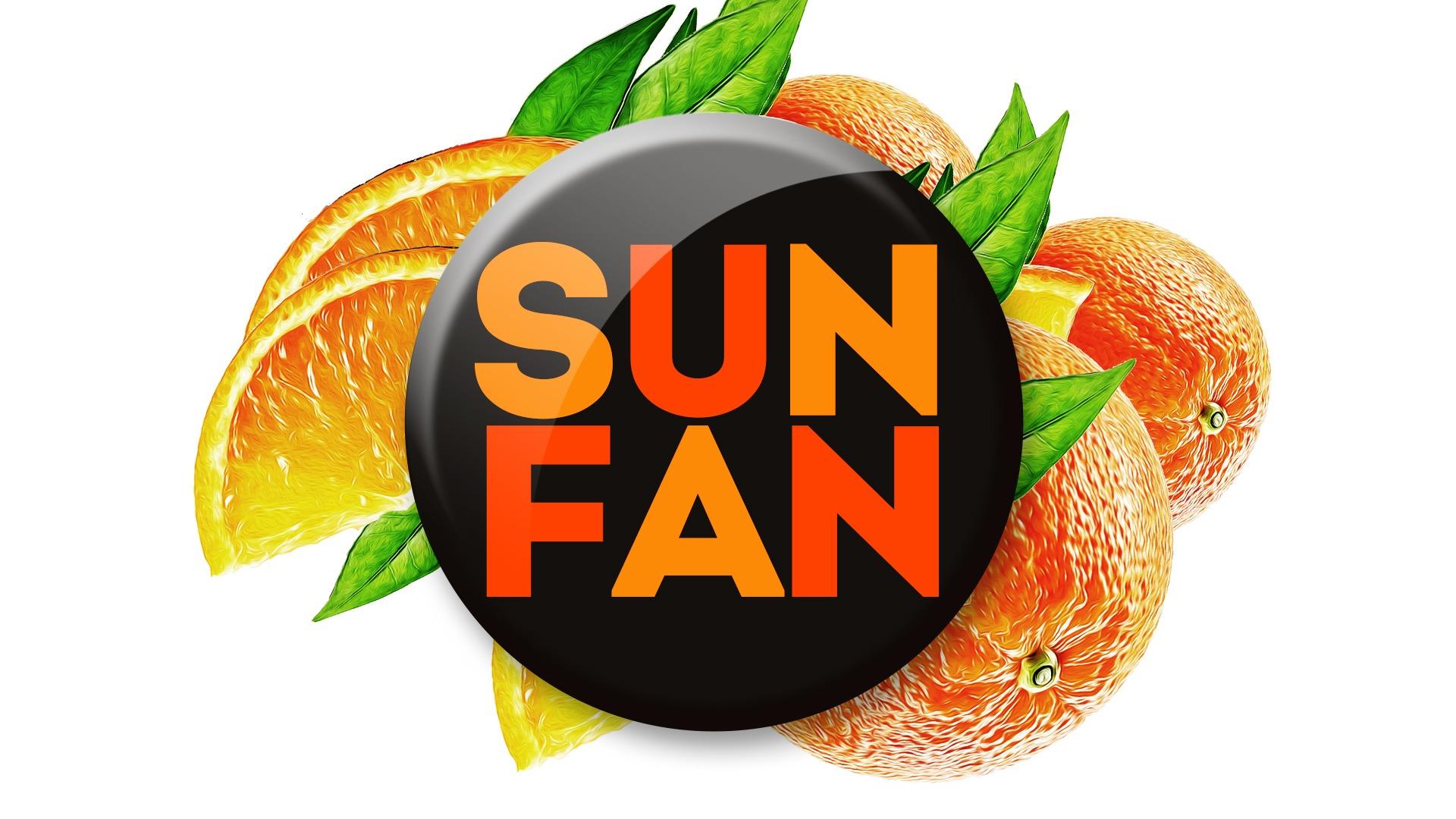 Агентство Асгард, напиток SUN FUN, дизайн товарной марки, дизайн этикетки