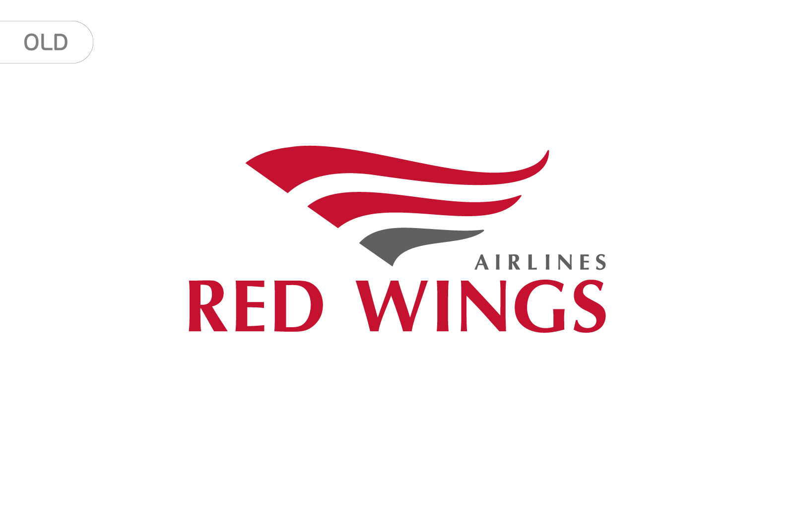 old logo, red wings airlines