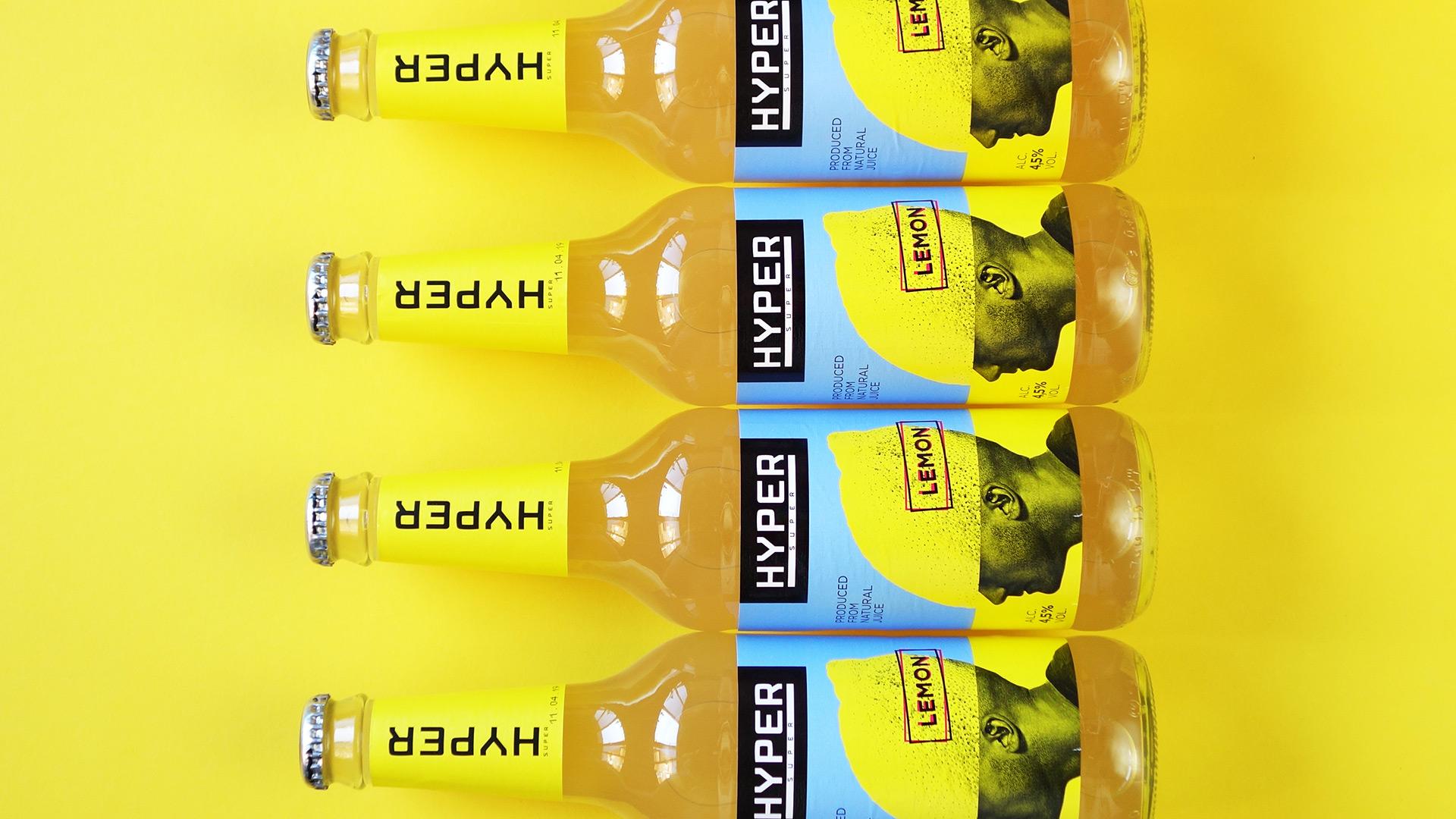 Asgard Branding, packaging, illustration, packaging design, head, lemon, Hyper,