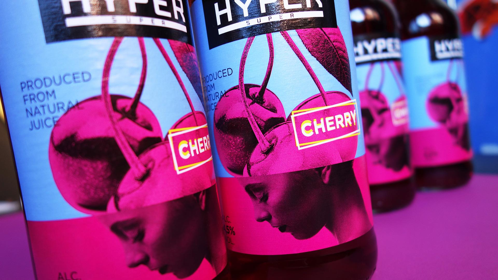 Branding, homofructus, packaging, illustration, packaging design, head, cherry, Hyper, Asgard