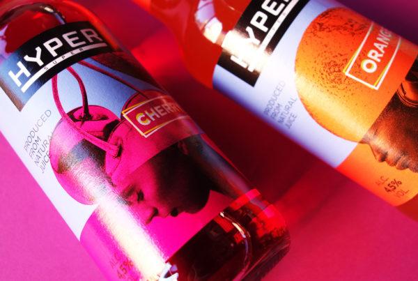 Асгард Брендинг, упаковка, апельсин, вишня, голова, homofructus, оранжевый, магента, напиток, Hyper, magenta, head, design, packaging, Asgard branding