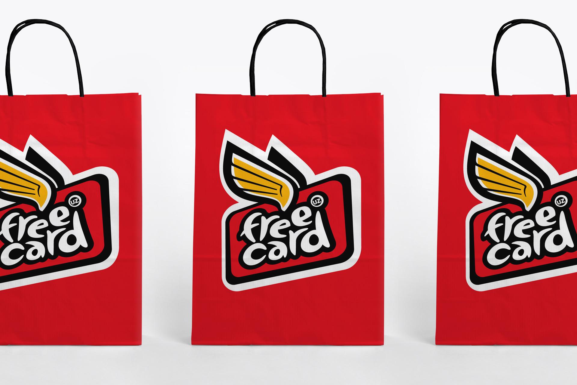 Asgard Branding, corporate identity, branding, Free Card, logo, packaging design, advertising agency