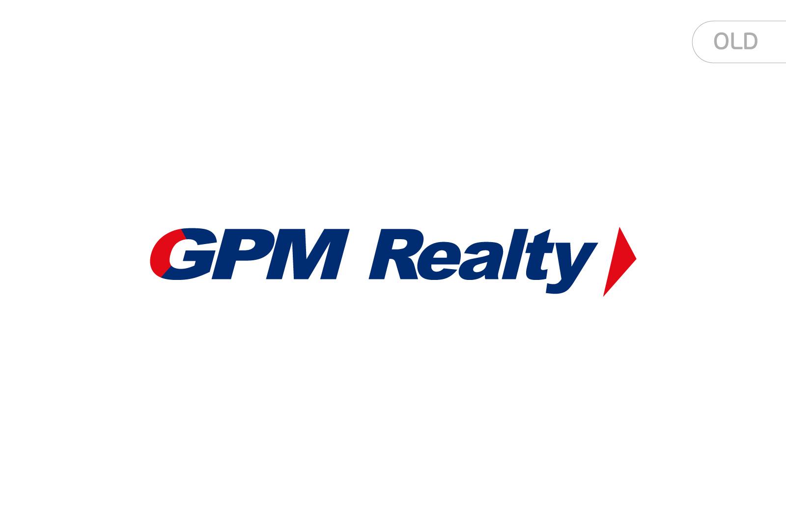 Asgard Branding, corporate identity, old logo design, GPM Realty, development branding, Uzbekistan