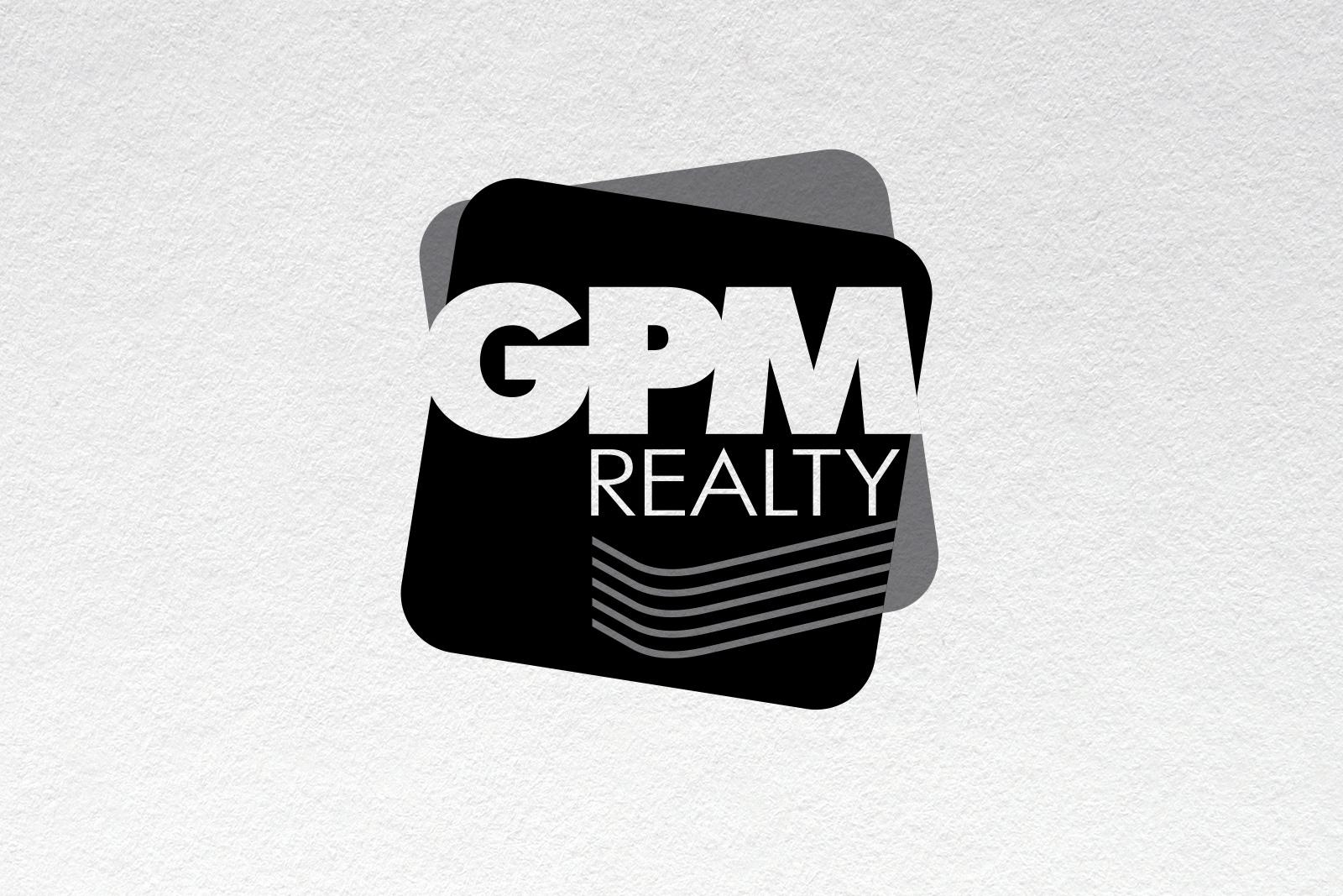 Асгард Брендинг, фирменный стиль, айдентика, монохромный логотип, GPM Realty