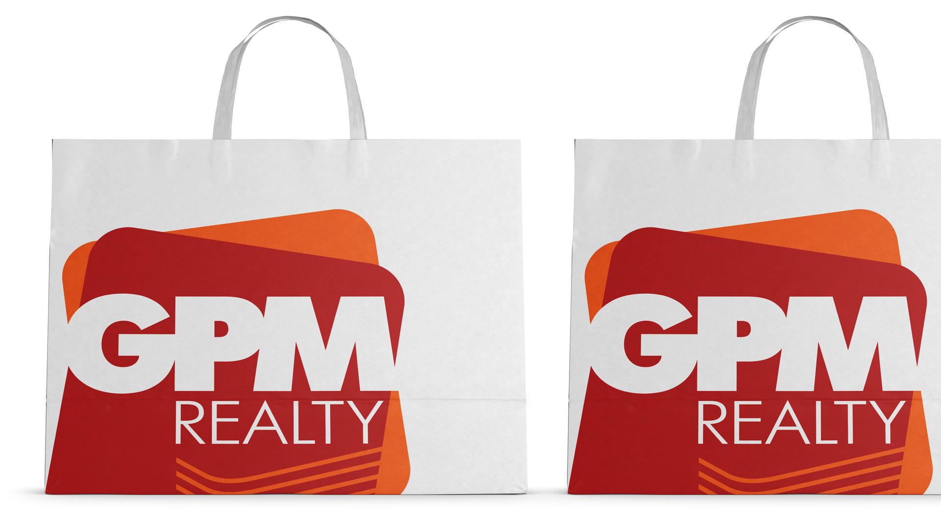 Асгард Брендинг, фирменный стиль, айдентика, дизайн упаковки, GPM Realty, корпоративные пакеты, графический дизайн, брендинг строительной компании, реклама