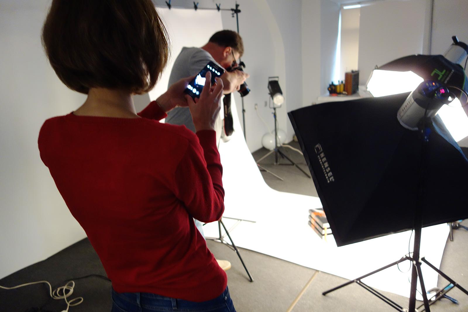 Studio photography, anniversary album, prints, photo books, Mikhail Reva