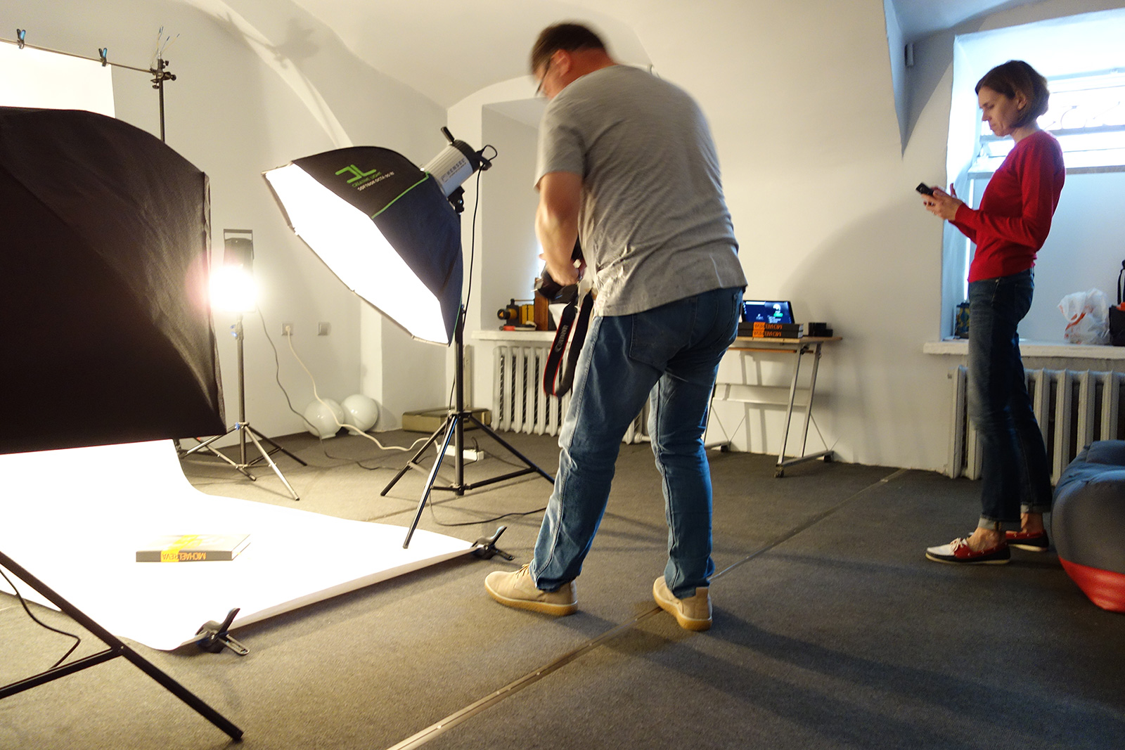 Studio photography, anniversary album, photo books, Mikhail Reva