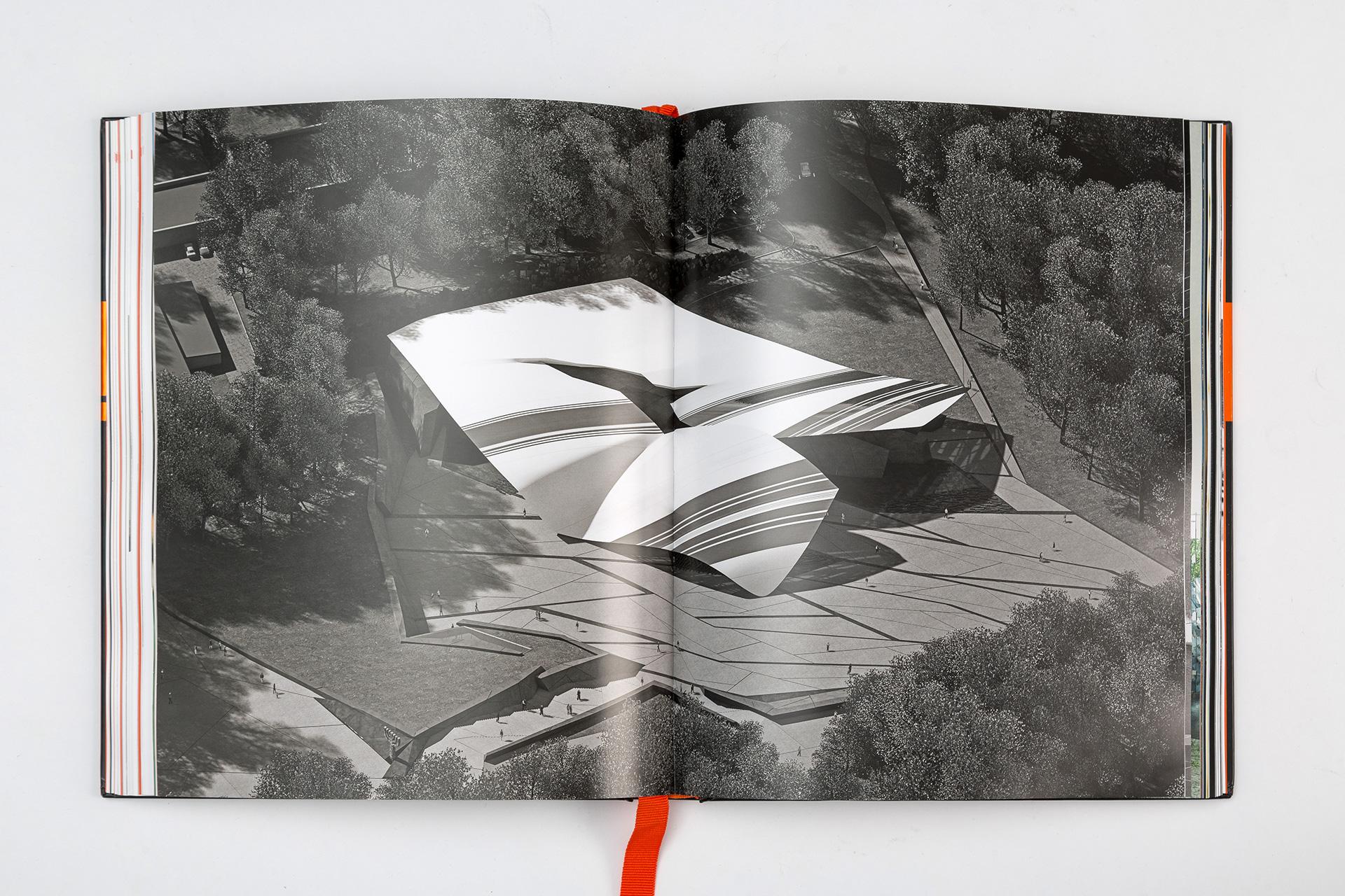 Asgard Branding, юбилейный альбом, дизайн разворота издания, печатные издания, дизайн книги, Михаил Рева