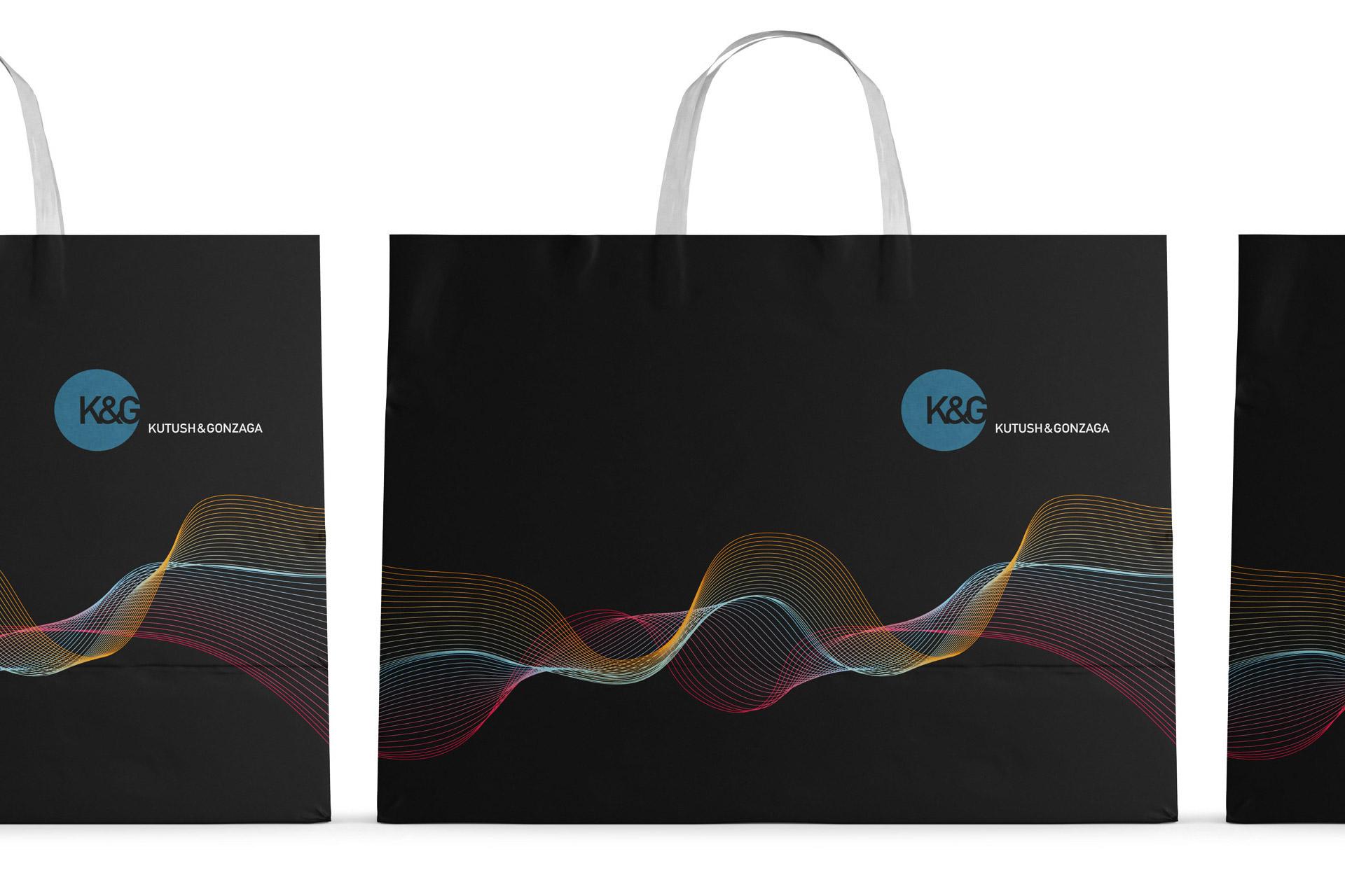 Asgard Branding, corporate identity, K&G, logo, Kutush & Gonzaga, design, package design, branded bags