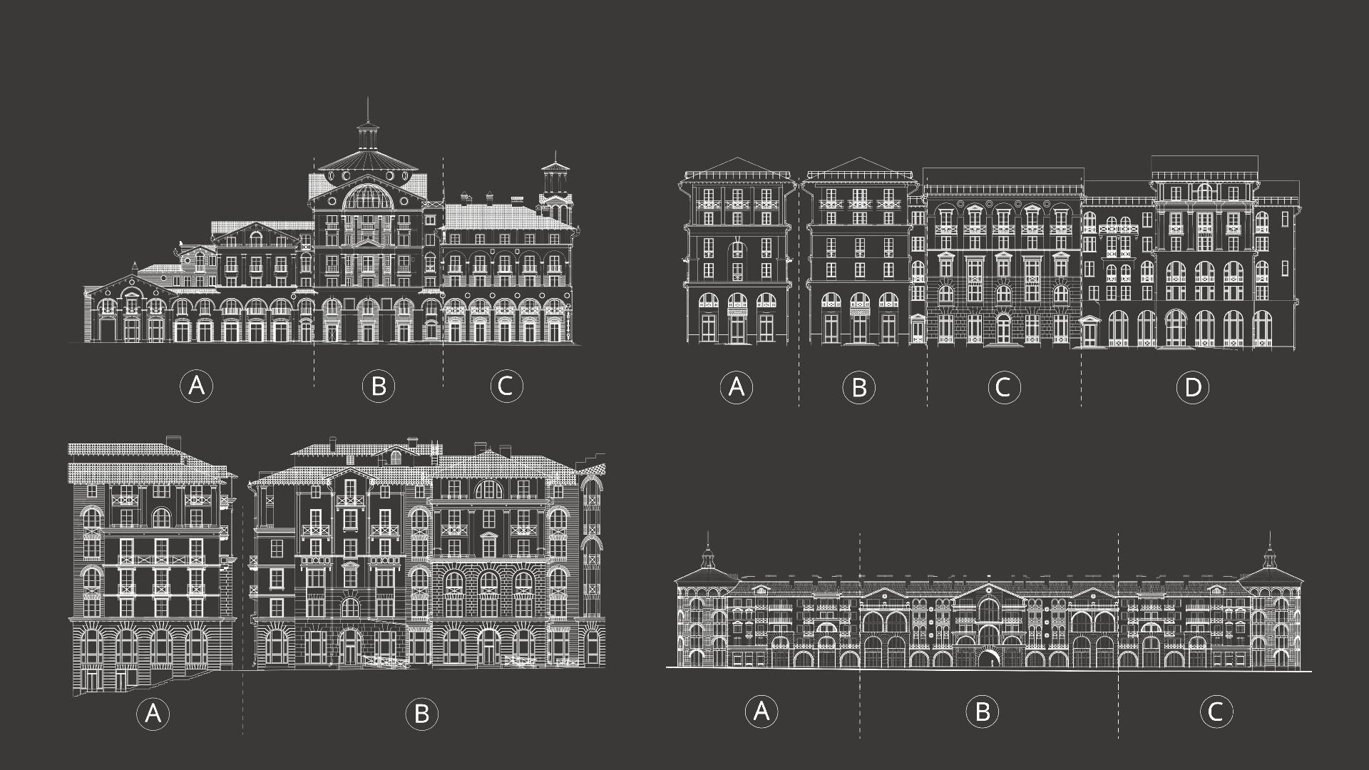 Асгард Брендинг, Красная Поляна, Курорт Красная Поляна, дизайн-код, схемы фасадов,